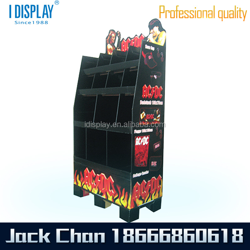 Fashionable design point of sale display metal customized for Point of sale display template
