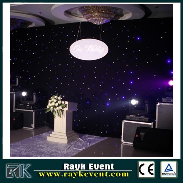 new electronics inventions android/ipad wifi/bluetooth led star cloth lights