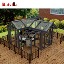 Hot sale! Heavy 1.8 /2.0mm aluminum sunlight room sun room for europe villa
