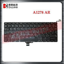 "Laptop Keyboard For Macbook Pro 13"" A1278 Arabic Keyboard AR Layout Replacement"