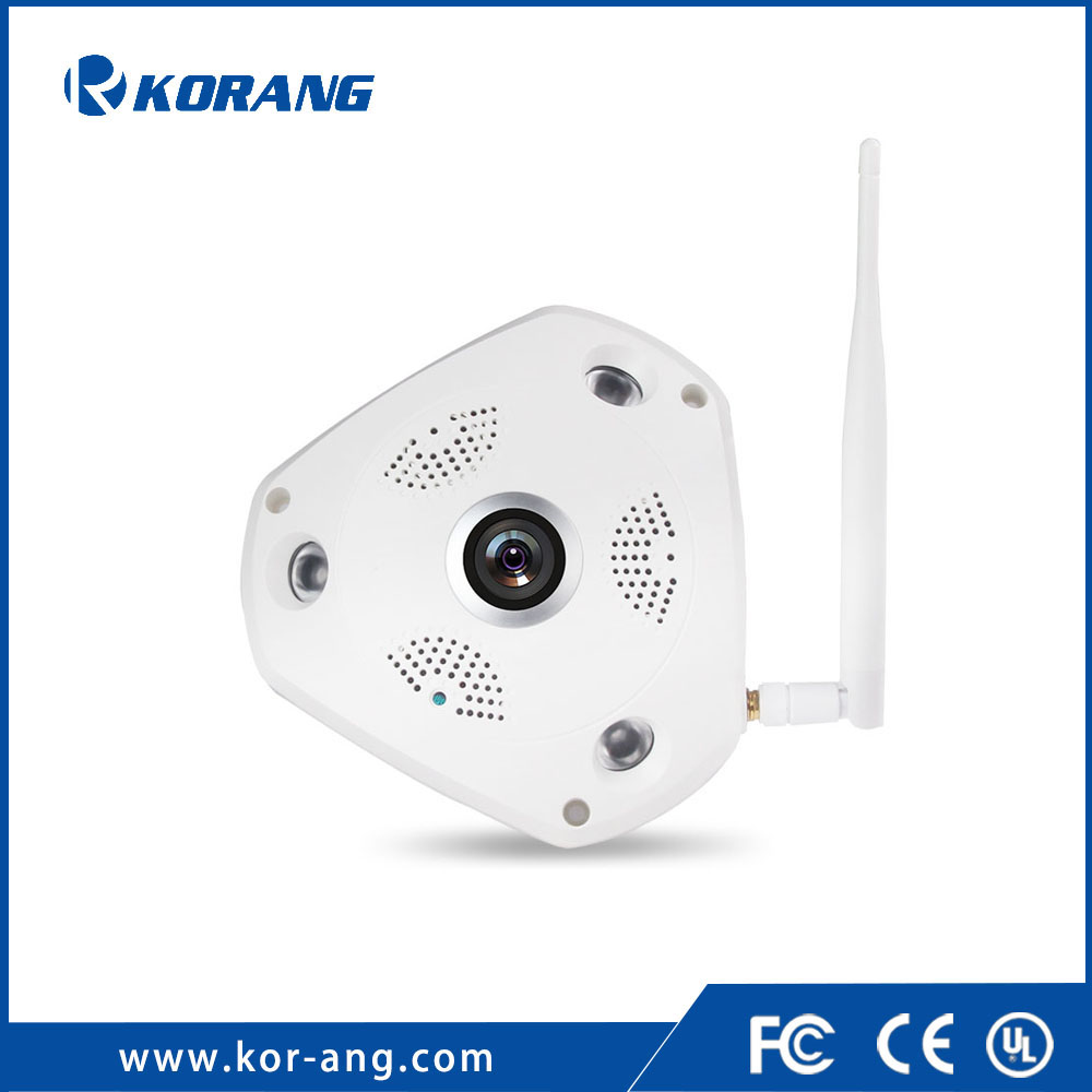 3.0 Megapixel Panorama Wireless CCTV Home Security System 3MP 3D Mobile P2P CCTV Fisheye Wifi IP Camera