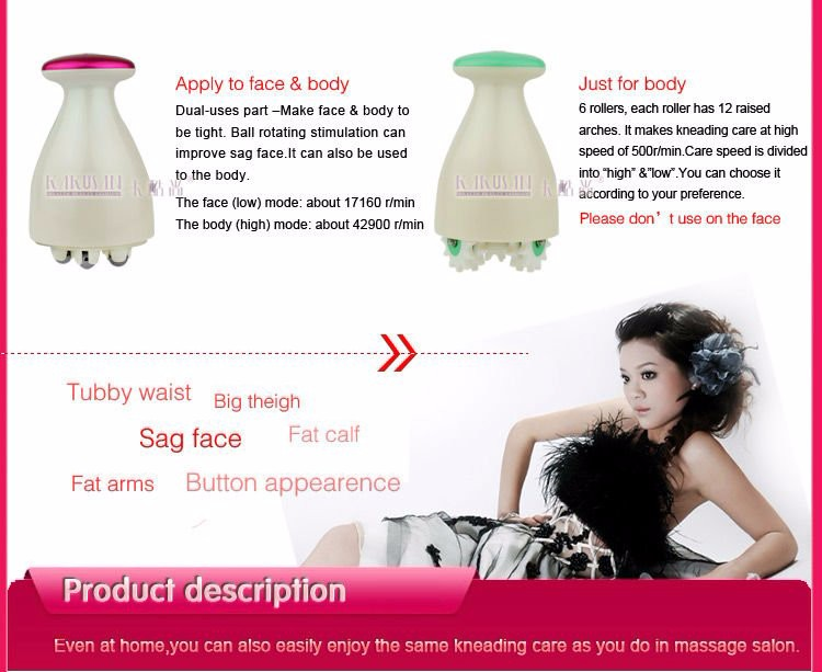 High quality electric 3d body massager home use Anti Cellulite Massager