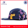 High quality snapback hat supplier custom 3d embroidery hat