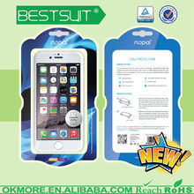 2014 free samples anti-shock phone case screen protector cover film skin for iphone 6