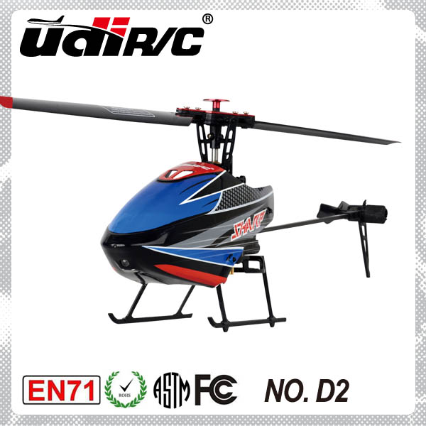 New product Udirc 2.4G 4CH Single blade radio control Helicopter D2