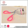 Colorful Slim Perfect Radian Angle Eyelash Curler Cute Curl Eyelash Curlers-Silver Beauty Tools (Pink)