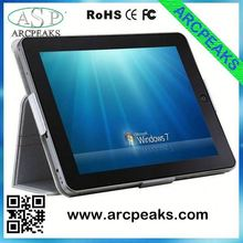 9.7inch win7 tablet pc with sim slot and 5mp camera