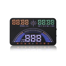 Newest OBD2 GPS Universal car head up display Speedometers Overspeed Warning Dashboard Windshield Projector