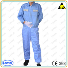 LN-104 Protective Conductive ESD Antistatic Garment/antistatic cleanroom smock