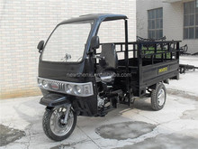 Chassis and Suspension Steel plate 3 Wheel Motor Tricycle with Cabin for Sale