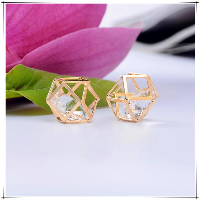 New design Acrylic delicate earring Crystal pendant
