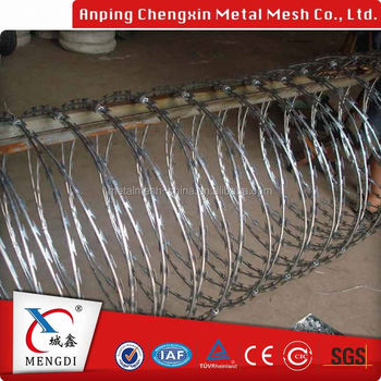 Cbt-60 Galvanized Razor Wire Barbed Wire