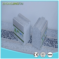 Heat Insulation Metal Roofing Sheets , EPS Cement Sandwich Panels