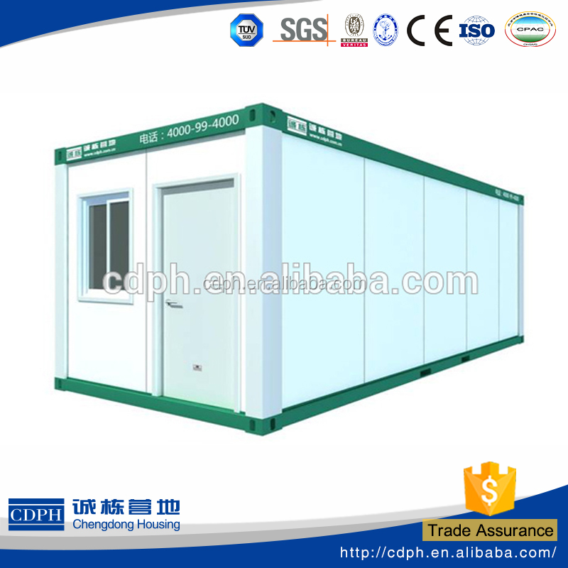 Flexible Prefab House with different color for office in construction and minning