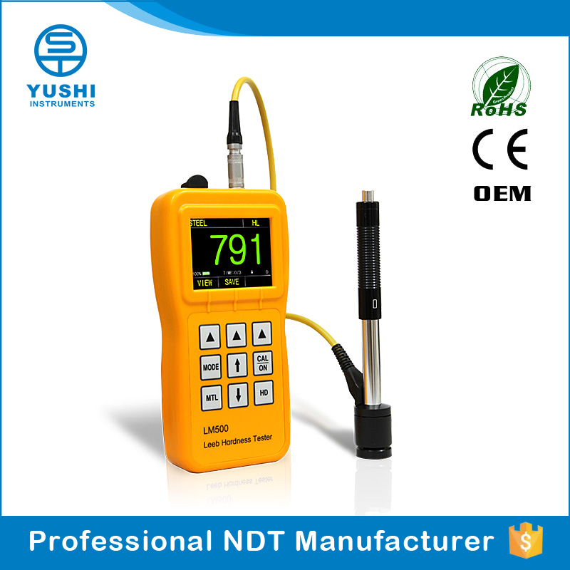 YUSHI OLED Portable leeb Hardness Tester For brinell
