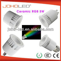 dmx mr16 e27 gu10 rgb 3w led cob spotlight/3w cob gu10 led spotlight/rgb
