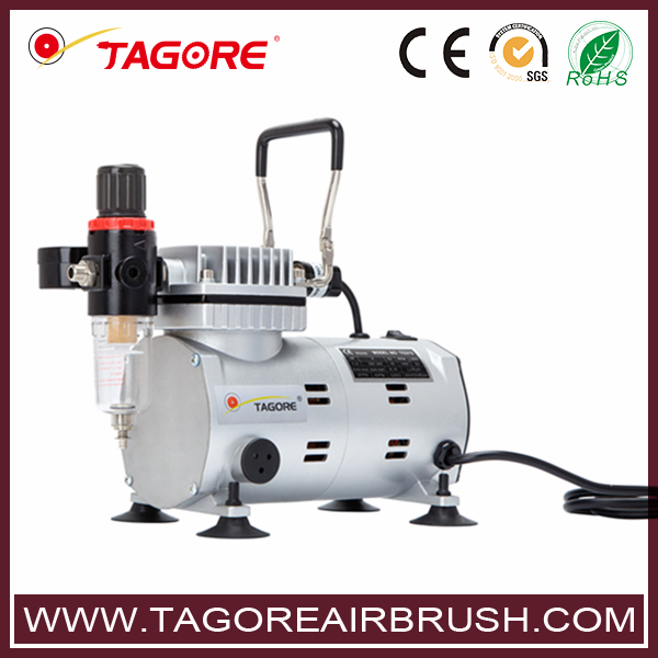 Tagore High performance portable TG212 airbrush compressor