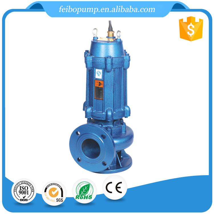 High Efficiency 10 15 HP Electric Non-Clogging Submersible Sewage Centrifugal Irrigation Water Pump