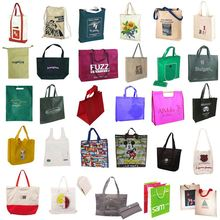 High Quality Widely Use Green Spun Shopping Bag