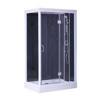 Toilet Rectangle freestand enclosed corner bath shower cabin