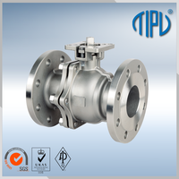 Supplier Hydraulic Actuator hot water ball valve For oil