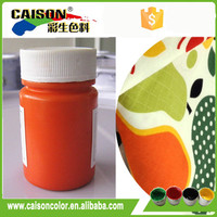 Orange red Pigment colorants with more durable