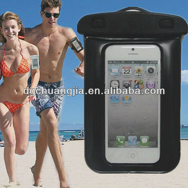 for iphone 5 waterproof cover with customized logo