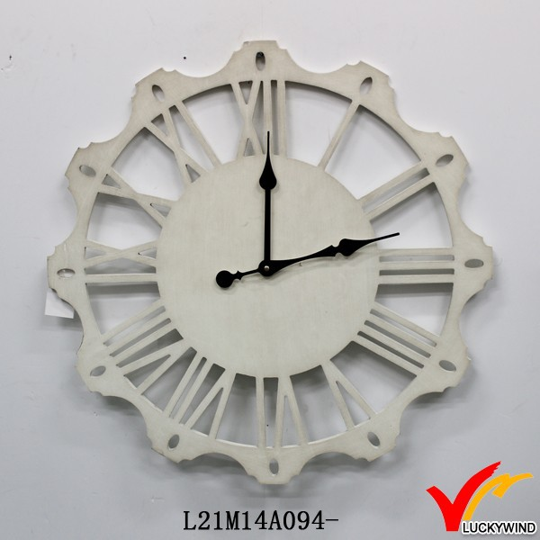 antique metal fashion decorative wall mount clocks
