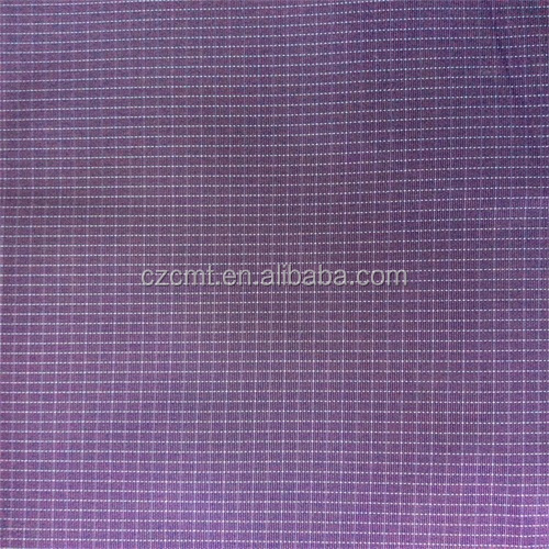 Pu coated rip-stop oxford fabric for bag
