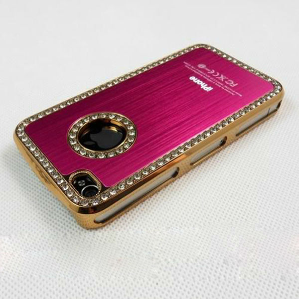 diamond mobile case,hard pc case,promtional cell phone case for iphone 5