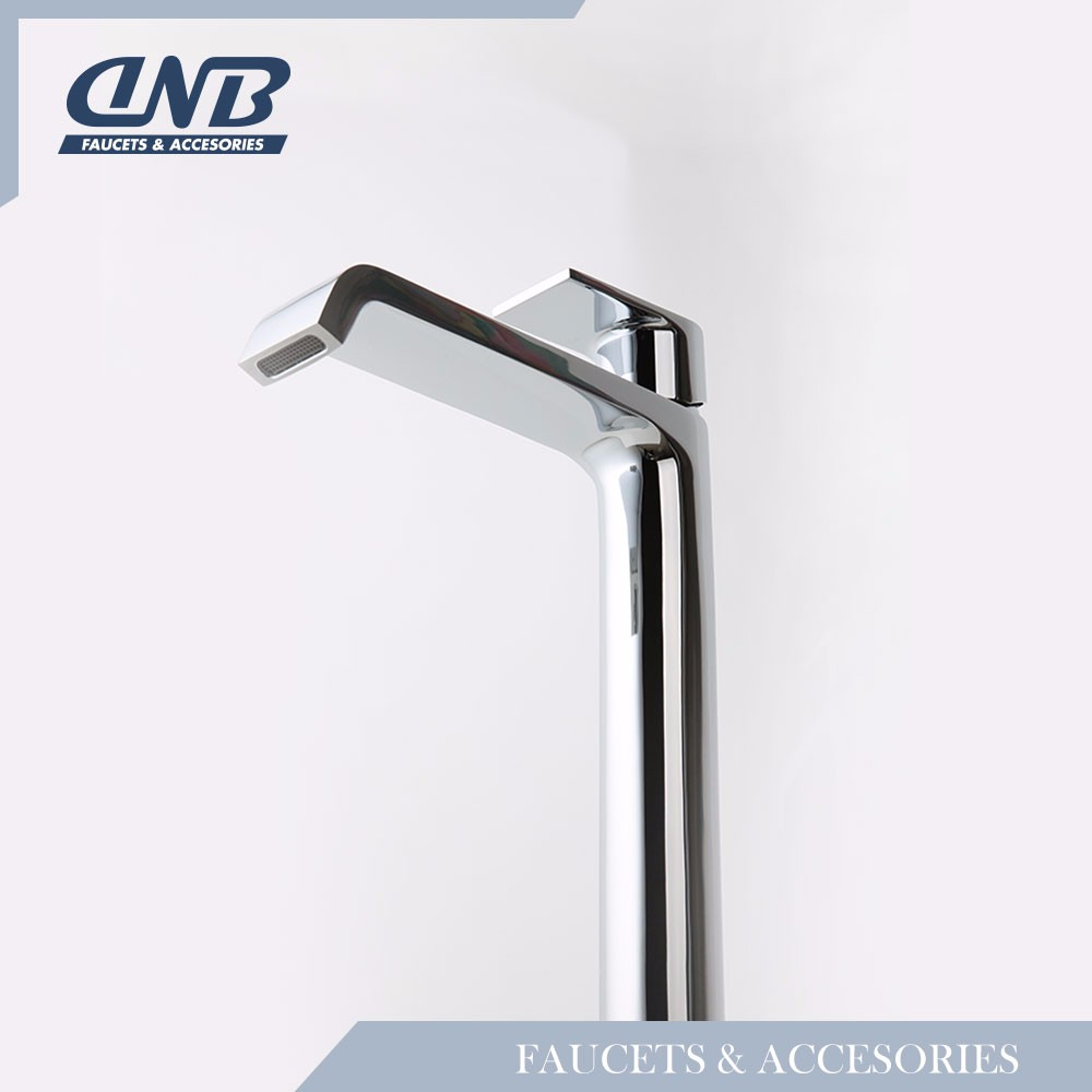 Luxury Modern Brass Chrome Faucet Cascade