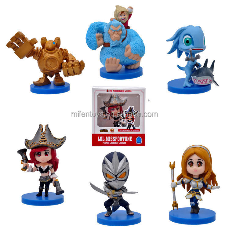 wholesale lovely hot game league of legends league-of-legends lol pvc action figure