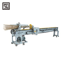 Bamboo splitting machine hot press strand woven bamboo flooring making machine