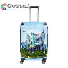 Customized Design ABS PC kids luggage travel plane kids luggage cheap cute luggage