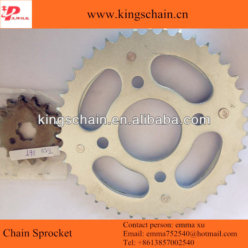 BRAZIL CG 150 TITAN chain sprocket kit 43/16T for motorcycle