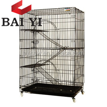 Golden Color Cat Cage For Sale Cheap