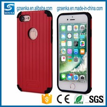 2 in 1 Mobile Phone TPU PC Shockproof Slim Cover Case For iphone 5/5s/SE