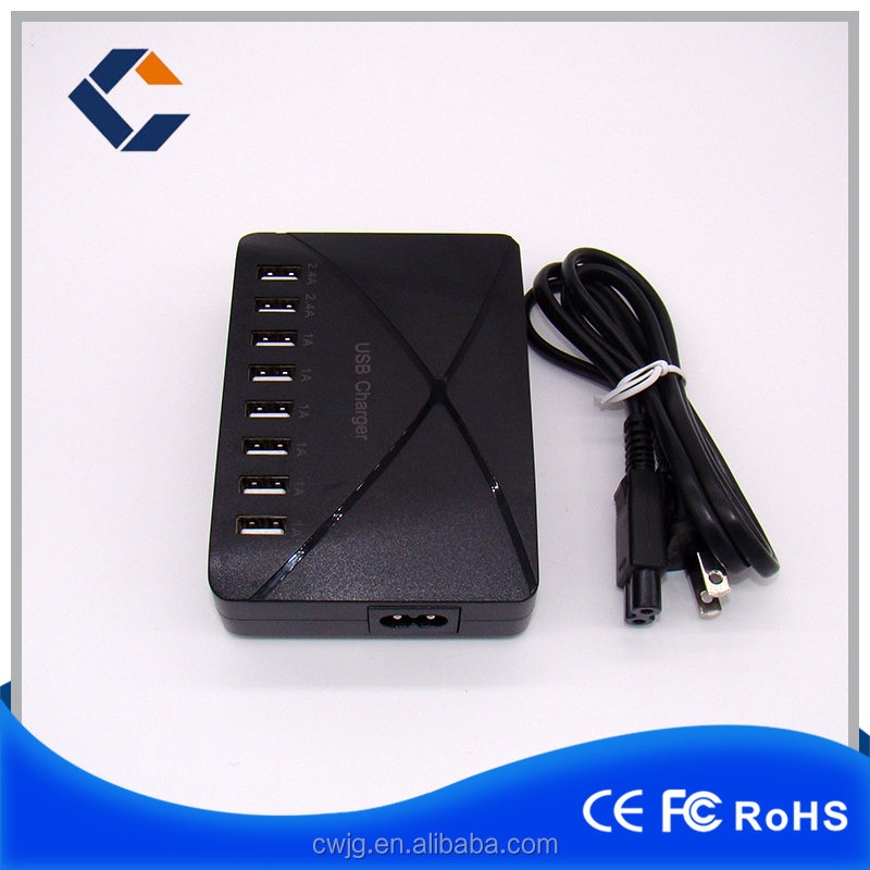 Wholesale Chargers , 5 Port Mobile Phone USB Charging Station