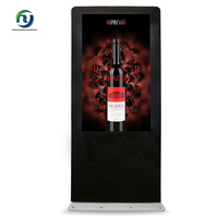 High Quality 55 Inch Floor Standing 3G WIFI LCD Monitors