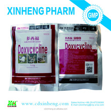 GMP manufacturer Veterinary Medicine 5% 10% 20% 50% Doxycycline Hyclate Soluble Powder for poultry