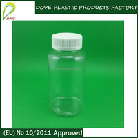 250ml pet bottle 250ml clear pet bottle 250ml clear plastic bottles with screw cap