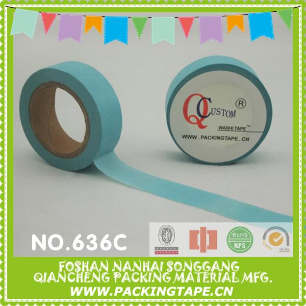 Removable self adhesive masking paper tape bookmarks