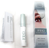 Tested no side effect Strong Herbal oil free Eyelash growth gel safe for eyelash extension users
