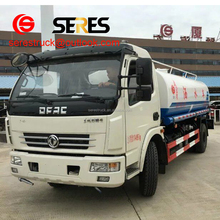 china supplier street water spray truck, 6 wheels water truck, 4x2 sprinkler water tank truck