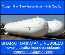 """Oxygen Gas Tank Installation - High Quality"""