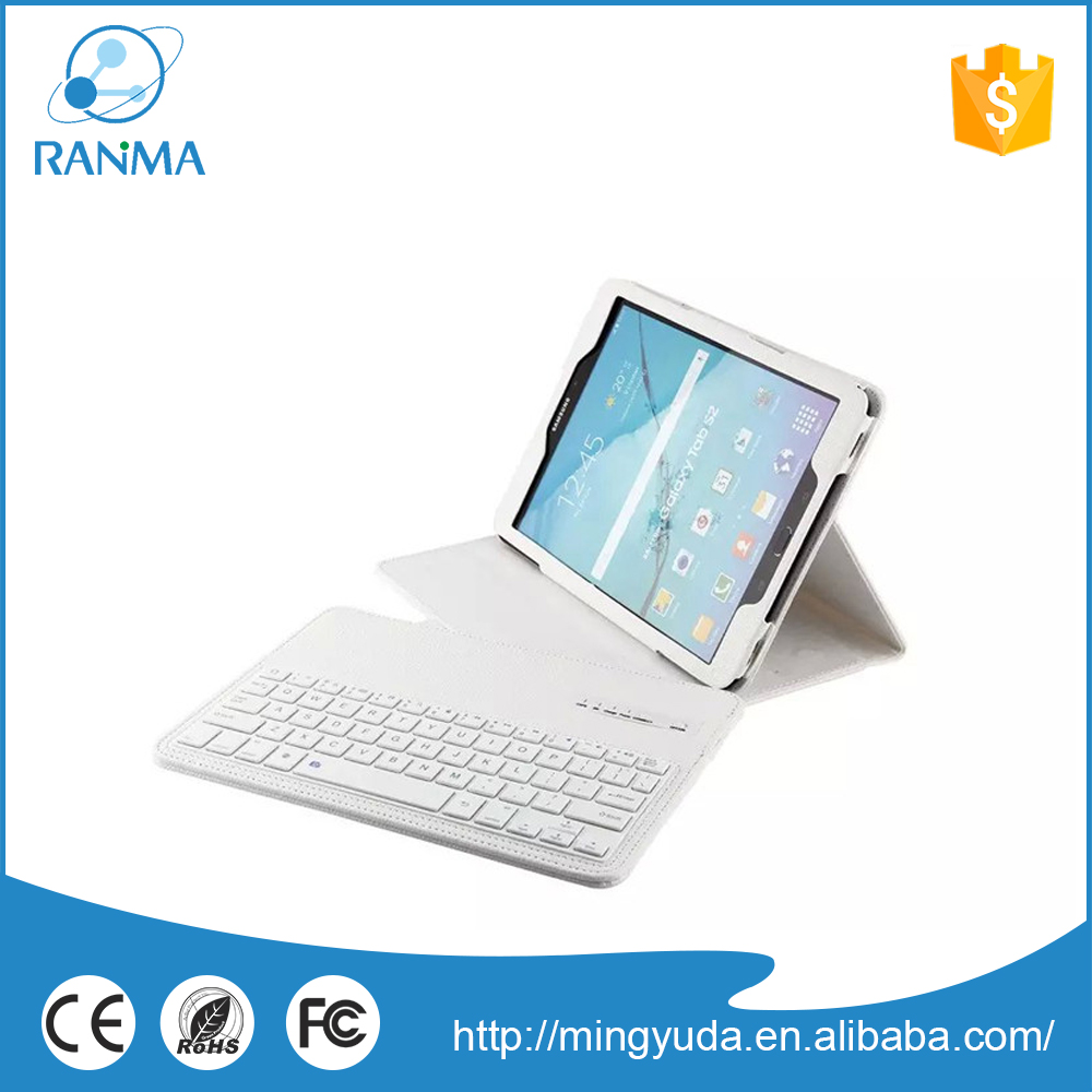 Trade Assurance bluetooth tablet 9.7 inch leather keyboard case for samsung S2