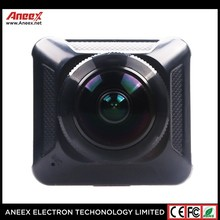 China factory double lens outdoor motorcycle video waterproof action video extreme sports camera