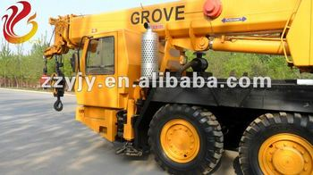 Construction machinery low price high quality 50 tons auto Grove truck cranes