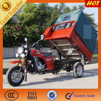 Powerful 4.50-12 tire tricycle for adults