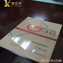 Custom 9H High Quality Color Tempered Glass Screen Protector For iPad